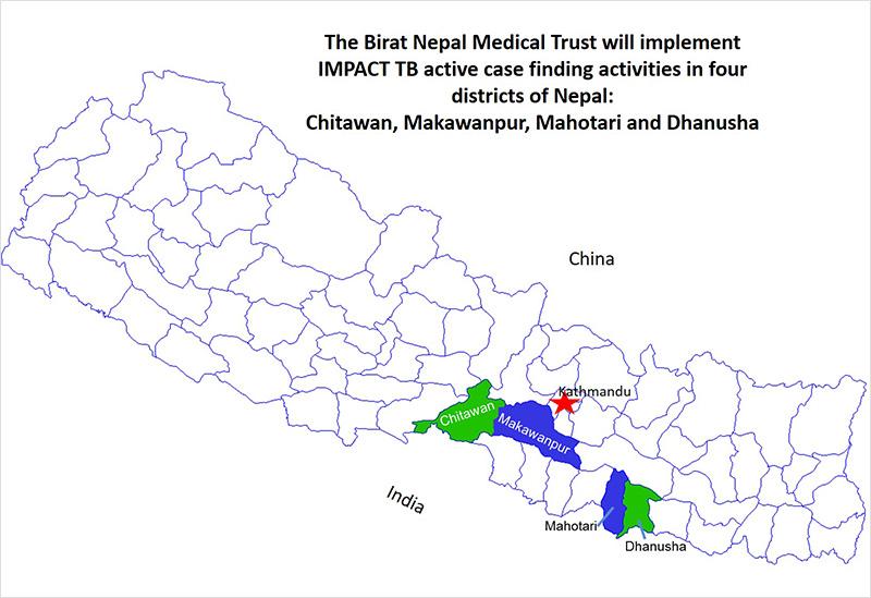 nepal-project-map
