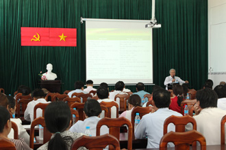 IMPACT TB training sessions take place in Vietnam
