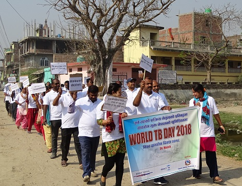 World TB Day 2018- BNMT Nepal
