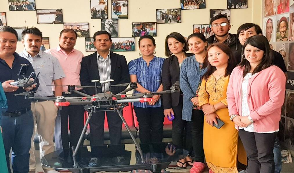 Drones arrive in Nepal as part of new TB initiative