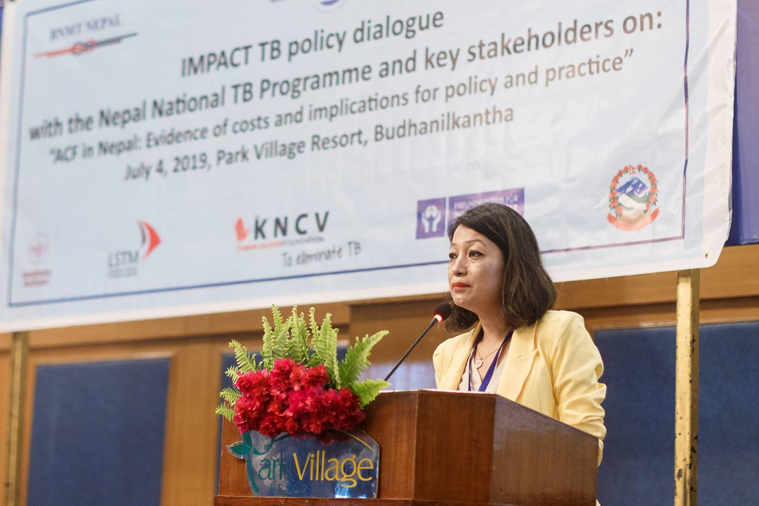 IMPACT-TB policy dialogue workshop held in Nepal